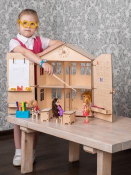 Кукольный домик школа