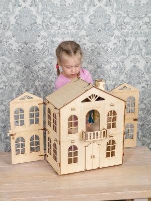 """Кукольный домик """"Распашенка"""" для средних кукол"""