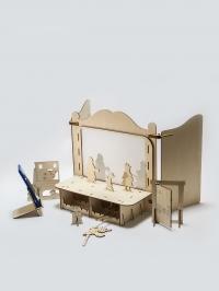 Театр для Сказок с персонажами «Волк и семеро козлят»